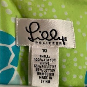 Lilly Pulitzer Dresses - VINTAGE Lilly Pulitzer Turtle Dress - size 10